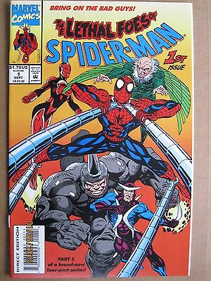 1993 Marvel Comics The Lethal Foes Of Spider-Man #1