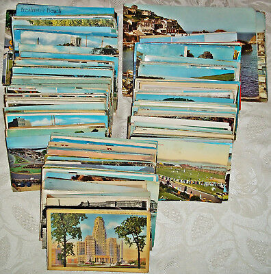 Job Lot of Vintage Postcards x 400 – 1950s to 1980s