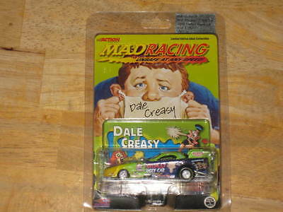 2000 MAD Magazine / Dale Creasy Jr.     MAD Racing Funny Car    1/64 Scale  MINT