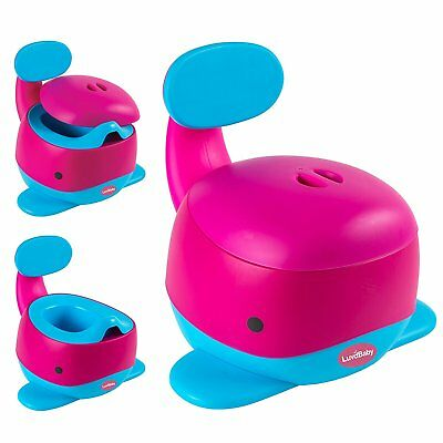 Potty Training Chair Baby Kids Toddler Stable Fun Toilet Trainer Seat Girls Pink
