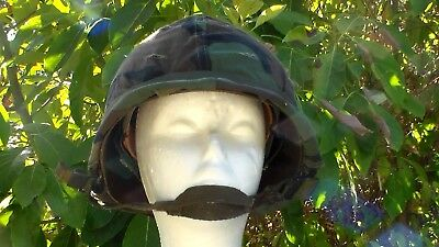 US Army WW2 style Late 1970s to Early 1980s M-1 Helmet with Camouflage Cover