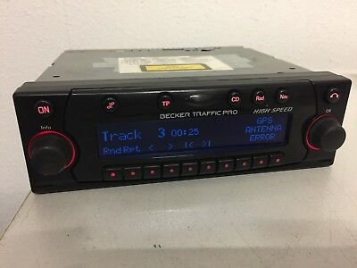 Becker Traffic Pro HIGH SPEED  Navigation CD Radio Becker BE7825 mit CODE