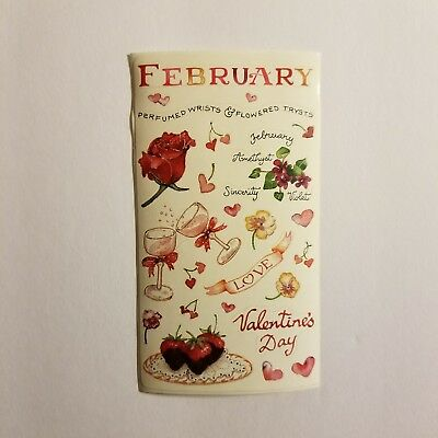 Susan Branch  February Valentine's Day Love  Hearts Stickers