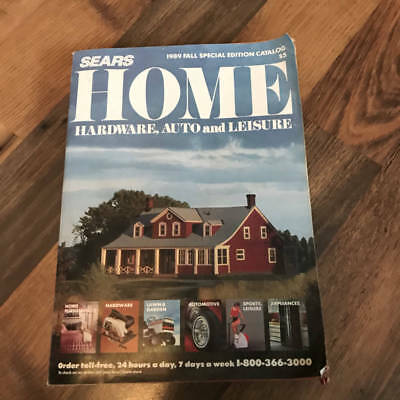 1989 SEARS Home Hardware, Auto & Leisure Fall Special Edition Catalog