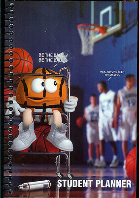 M&m's Student Planner Book With Calendar Assignments Notes Addresses Sections