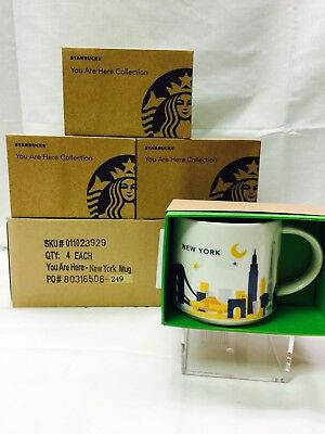 Starbucks Coffee Mug New York You Are Here Collection ~ Brand New In Box