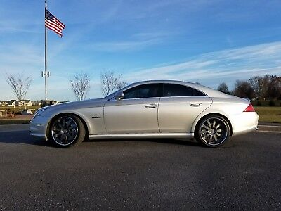 """2007 Mercedes-Benz CLS-Class CLS 63 AMG 2007 CLS 63  AMG 20"""" HRE 943 rims NEW tires CLEAN, Sharp, FAST  garage kept!!"""