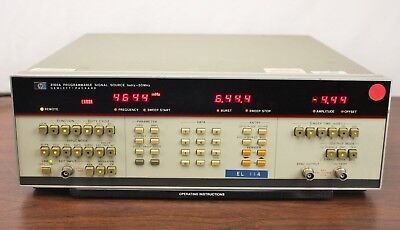 HP 8015A 8165A 50 MHZ PULSE/FUNCTION GENERATOR Opt 002