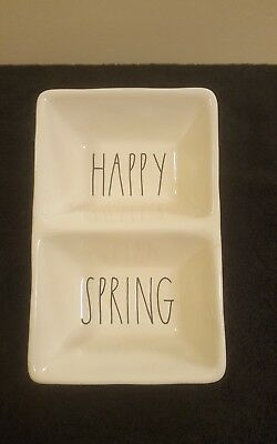 Rae Dunn By Magenta Artisan Collection {Happy Spring} Tray *Free USPS Shipping*