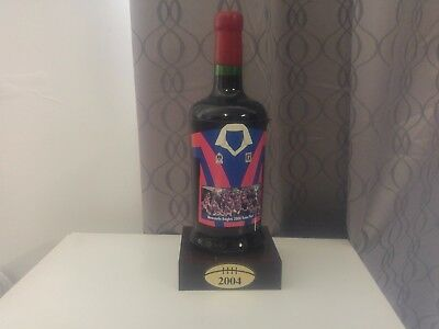 2004 Newcastle Knights Commemorative Port with Certificate of Authenticity