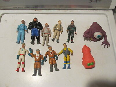 Vintage Kenner Ghostbusters lot of 12 figures & 3 ghosts
