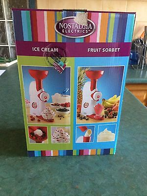 Nostalgia Electrics Frozen Dessert Maker