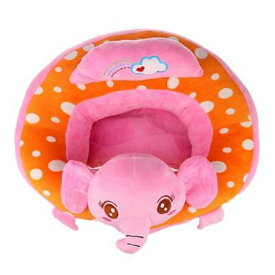 2Pcs Fashion Kids Seat Soft Car Pillow Support Cushion Sofa Plush Toy Gift