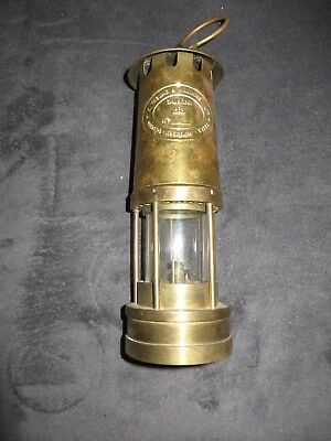 Historische Grubenlampe von Thomas &Williams