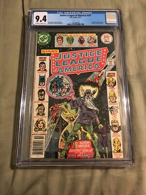 Justice League of America #147 Giant-Size Issue CGC 9.4 DC Comics 1977