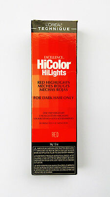L'Oreal Excellence HiColor HiLights for Dark Hair Only RED Highlights Dye Colour