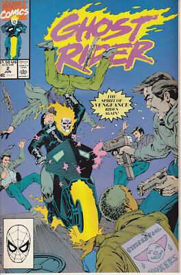 Ghost Rider #2 Marvel Comics 1990 FN Combined Shipping