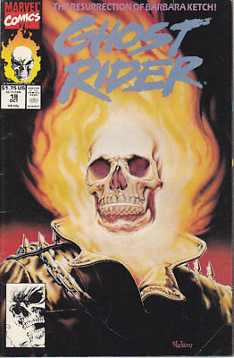 Ghost Rider #18 Marvel Comics 1991 FN Combined Shipping