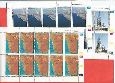 Namibia stamps. 1994 Walvis Bay set in sheets MNH (A233)