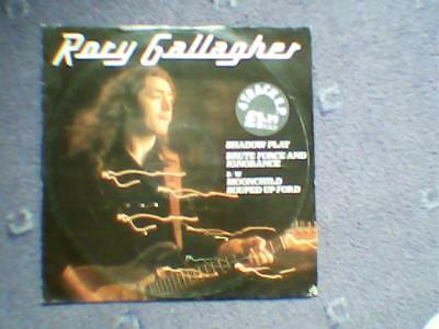 """rory gallagher shadow play EP limited edition 4 track 10"""" vinyl"""