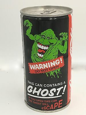 Coca Cola Ghost Busters II Coke Can 1989 in Dynamite Condition