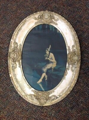 Fantastic ~ Vintage ~ Antique ~ Wood ~ Oval ~ Victorian ~ Ornate ~ Frame