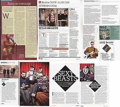 WILD BEASTS : CUTTINGS COLLECTION -interviews-