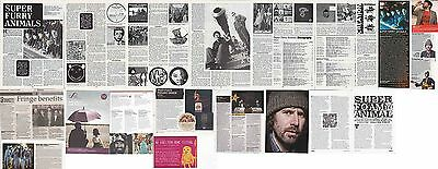 SUPER FURRY ANIMALS : CUTTINGS COLLECTION -interviews etc-