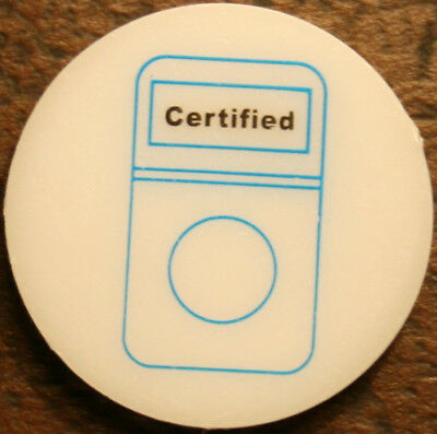 Proxy Coin represents a certified coin in a collection. Small cent size.