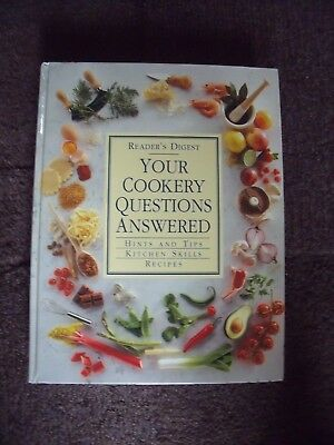 Reader's Digest 'your Cookery Questions Answered'