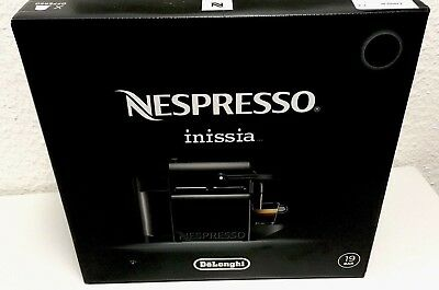 delonghi inissia nespresso kapselautomat en80 b. Black Bedroom Furniture Sets. Home Design Ideas