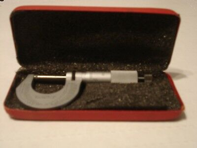 Starrett Micrometer No. 230 with Box Excellent Condition