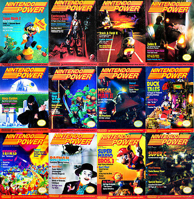 Nintendo Power Issues (1988-2004) Digital Comic Books PDFs DVDs