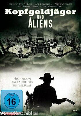 DVD - Bounty Hunter and Aliens - New/Original Package