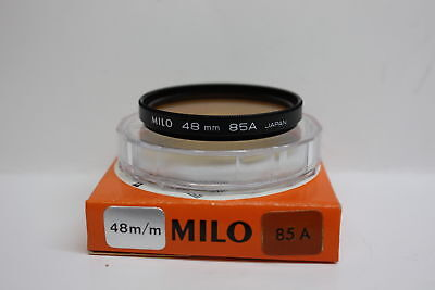 """Milo 85A Amber Daylight 48mm 2 inch filter Telescopes 2"""" eyepieces Camera Lens"""