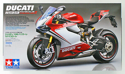Tamiya 14132 Ducati 1199 Panigale S Tricolore 1/12 Scale Kit