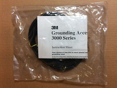 ESD Wrist Strap and ESD Mat Ground Point, 3M-3048, New