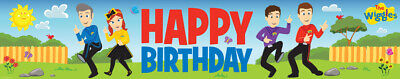 The Wiggles Party Supplies Happy Birthday Banner Decoration Anthony Emma