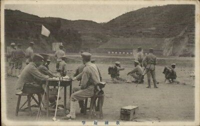 Port Arthur China Soldiers Military c1910 Postcard EXC COND chn