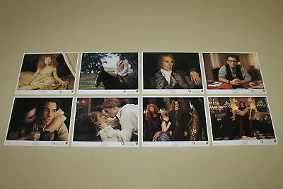 INTERVIEW WITH THE VAMPIRE -set 8 lobby cards 8x10 Tom Cruise Brad Pitt C Slater
