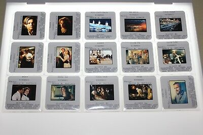 TITANIC - 15 press kit slides Leonardo DiCaprio Kate Winslet James Cameron