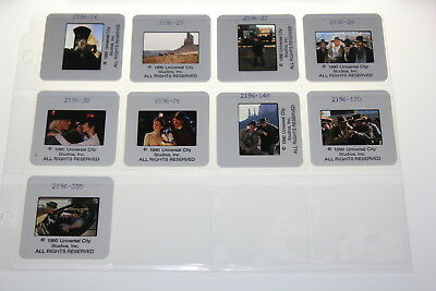 BACK TO THE FUTURE PART III 3 - 9 press kit slides  Michael J Fox VERY RARE