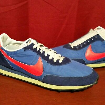 Vintage Nike Waffle 2 Nylon Running Shoes MADE IN USA OG 1970 s 80 s Rare 7d05b9138