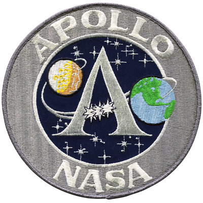 APOLLO Vintage ORIGINAL NASA Hallmarked Cloth Back SPACE PATCH - NEW