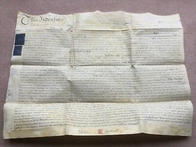 George Iii - 1783 - Indenture Document Referencing William Cautzell, Wight Stree