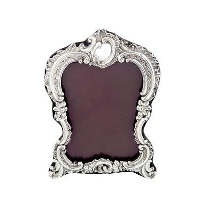 Antique Victorian Sterling Silver Photo Frame - 1895