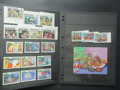 ESTATE: Disney Stamp collection on hagners Great for kids - great item  (6007)