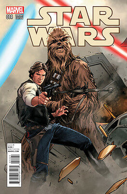 Star Wars #14 Connecting Variant - 2016 - (Marvel Comics) Boarded. Free Uk P+P!