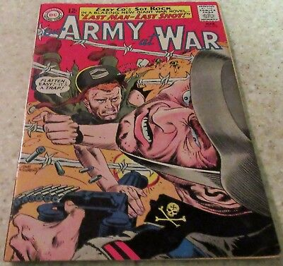 Our Army at War 152 (FN 6.0) 1965 (4th Full Rock book) 35% off Guide!