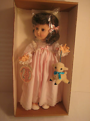 """Effanbee """"Night Time"""" Doll (#1904, Age of Innocence - 18""""), Made in USA - 1986"""